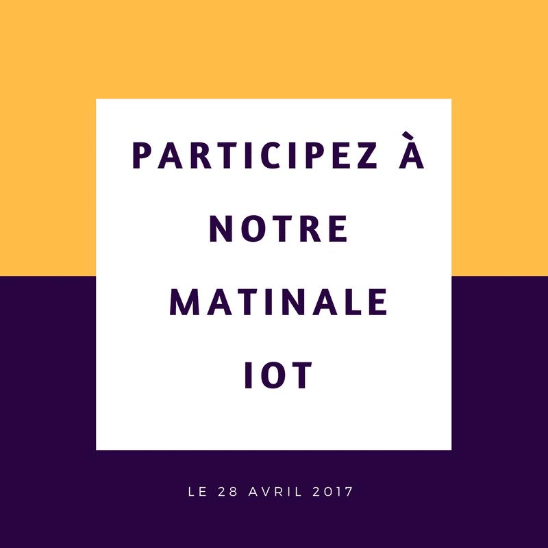 Matinale IoT par A5sys