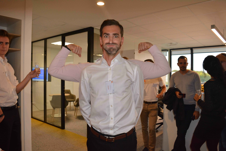 Sébastien Maouche, Responsable commercial d'A5sys