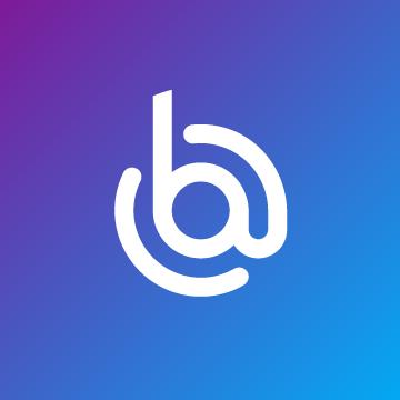 Logo boost My Mail fond bleu